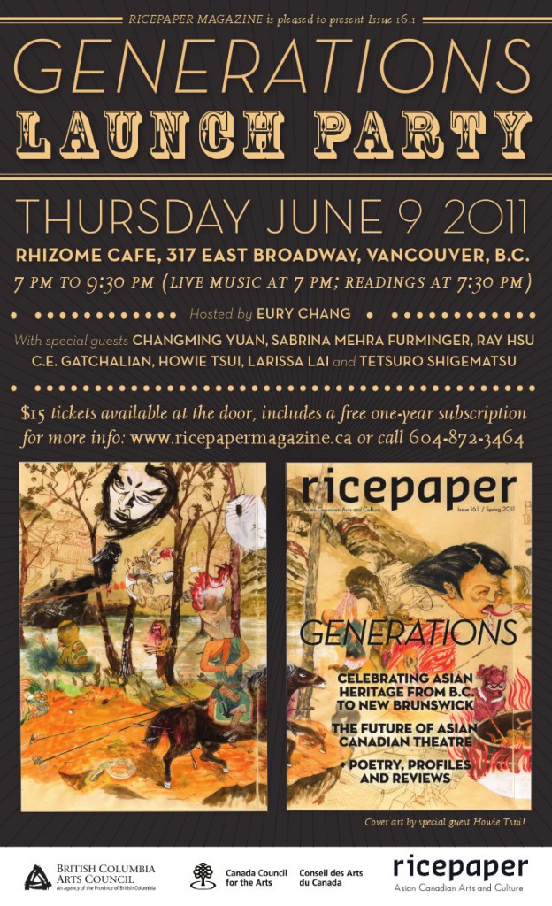 Ricepaper Generations Issue 16.1 Launch Party
