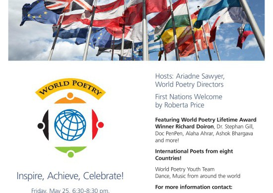 World Poetry Canada and International Peace Festival