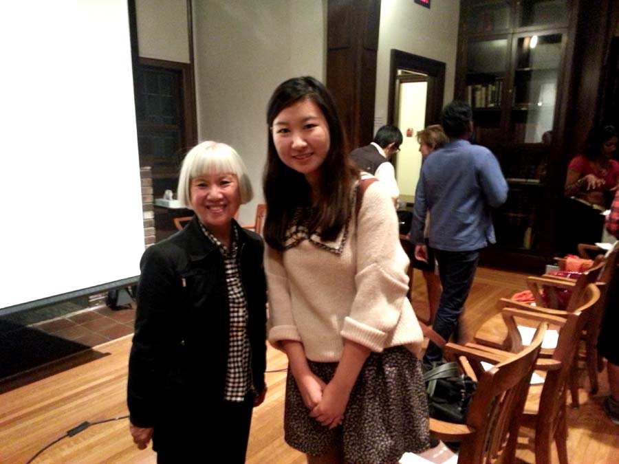 For example, a picture with JUDY FONG BATES! *Squee*