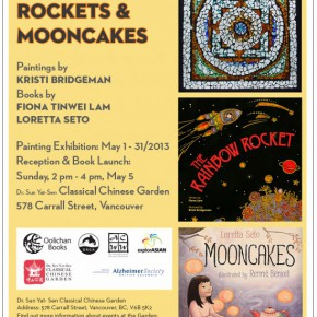 Mooncakes Book Launch Poster