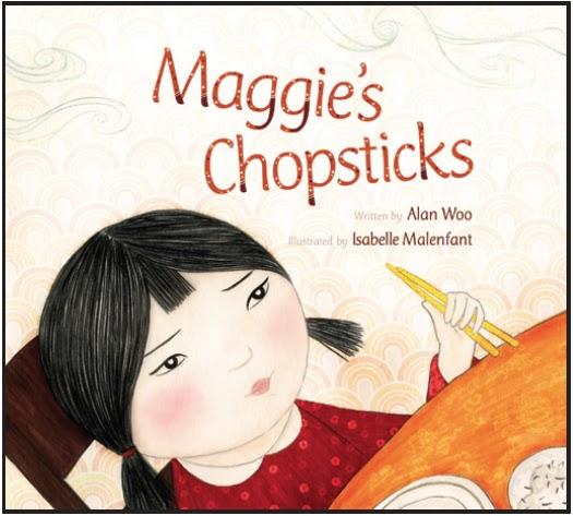 Maggie's Chopsticks Choc Lily shortlist 2014