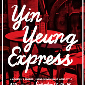 Sept 13 - Yin Yeung Express - storytelling & supper event