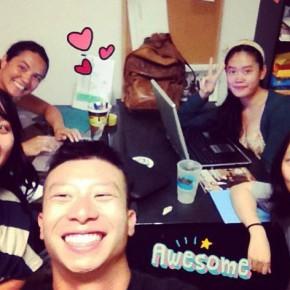 Ricepaper magazine team selfie (Summer 2013)
