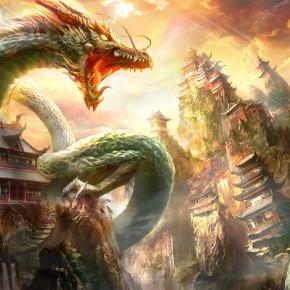 Oriental-Wallpaper