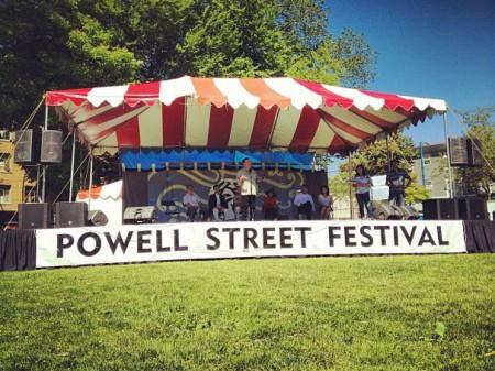 powell street festival ricepaper