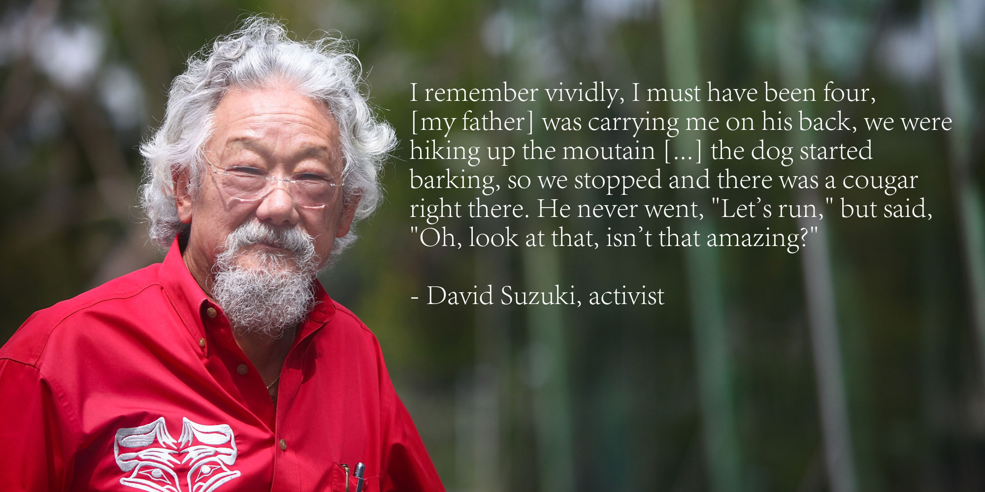the pain of animals david suzuki These animals are all capable of sophisticated behaviors that the pain of animals david cole the most catastrophic war.