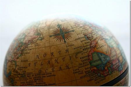 northern hemisphere of the globe