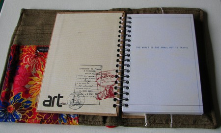 note book with inspiration