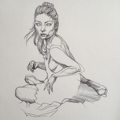 Mandy-drawing
