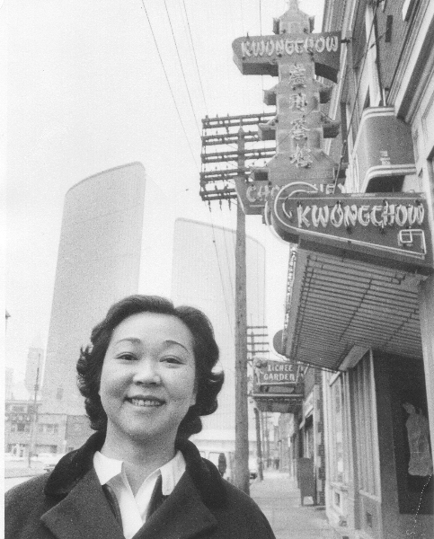 Jean and Doyle worked together in their Kwongchow Restaurant